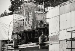 Ein Unimog der die Strecke konventionell befahren konnte.
