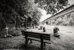 Die Gedenkstädte neben dem Unglücksort von 2006