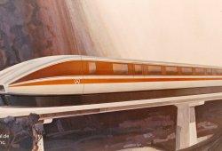 Rohr Industries Aerotrain (Konzeptzeichnung)