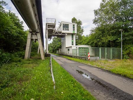 Kleiner Transrapid Bahnhof